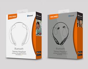 AVAC中恒佳华品牌蓝牙耳机包装设计