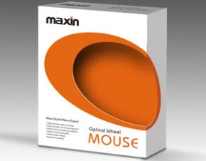 MAXIN鼠标包装设计
