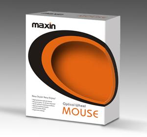 MAXIN鼠标包装设计-youjoys.net