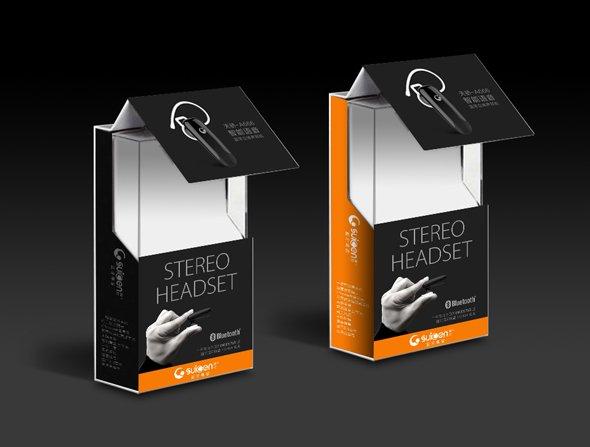 率先电器耳机包装设计-youjoys.net