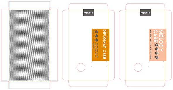 ROCK手机套,手机壳包装设计-youjoys.net