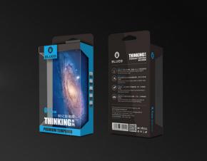 BLUEO蓝橙肖特钢化玻璃膜透明包装盒设计