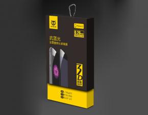 手机贴膜包装设计 iphone6s钢化玻璃膜包装设计