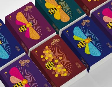 精美的蜂蜜品牌形象包装设计欣赏