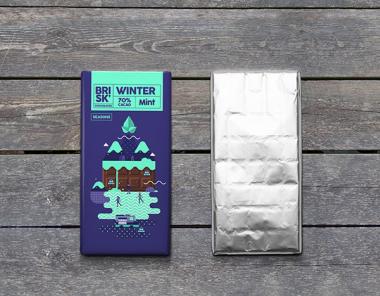 Brisk巧克力包装设计欣赏