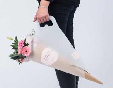 20款美丽的鲜花包装设计欣赏