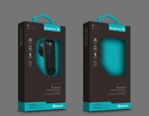 艾康尼斯iconix蓝牙耳机包装设计