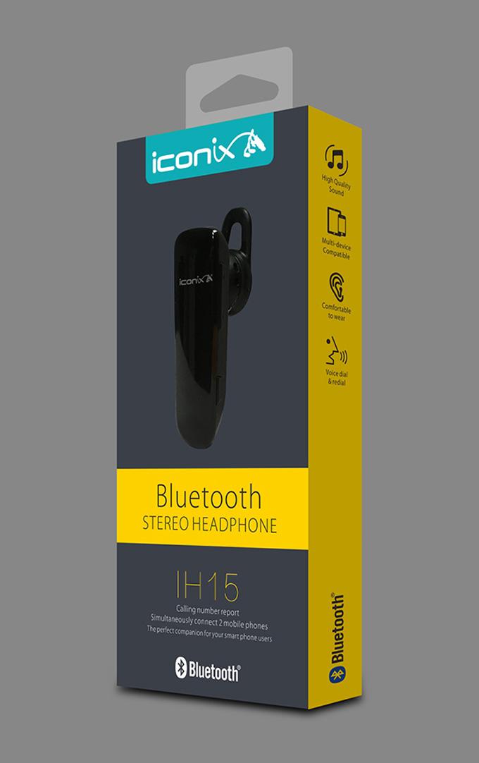 艾康尼斯iconix蓝牙产品包装设计欣赏-youjoys.net