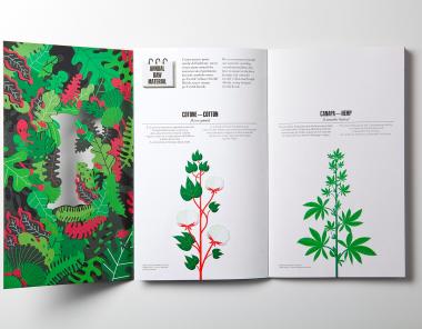 Fedrigoni品牌环保主题画册设计