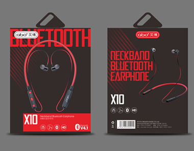 ABO爱博蓝牙耳机品牌包装设计
