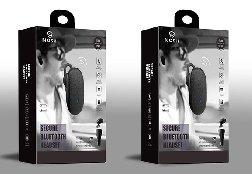 NOSH蓝牙耳机包装设计 通话保密蓝牙耳机设计