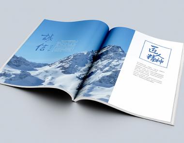 深蓝智能控制系统画册设计
