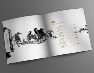 立德装饰公司画册设计