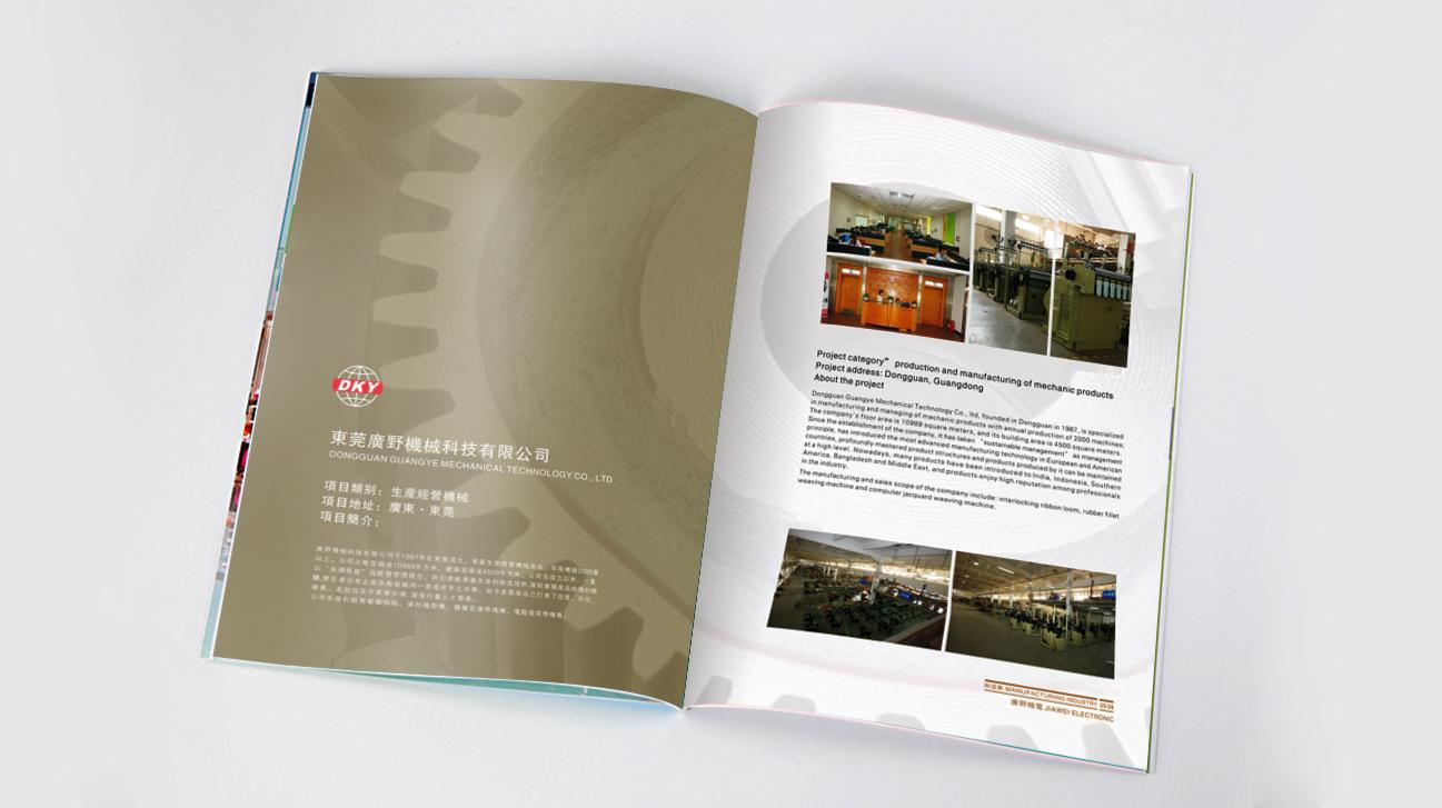 鼎盛投资画册设计-youjoys.net