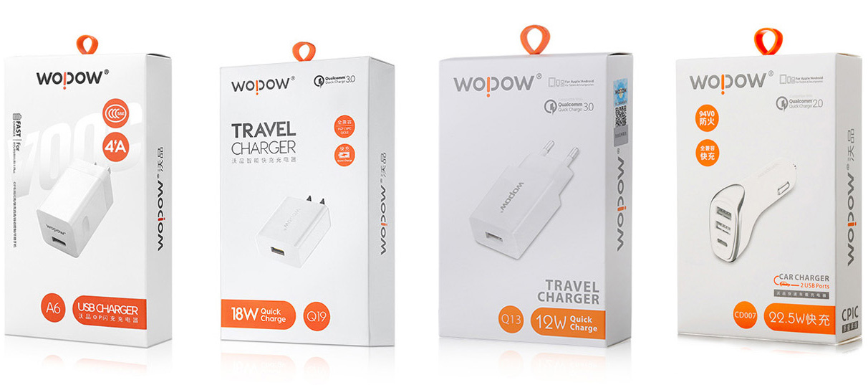 WOPOW沃品充电器包装设计-youjoys.net