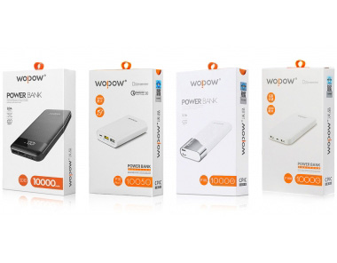 WOPOW沃品移动电源包装设计