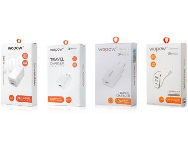 WOPOW沃品充电器包装设计
