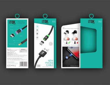 iTOK数据线组合套装包装设计