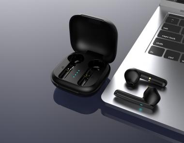 TWS蓝牙耳机3D渲染