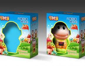 儿童故事机包装设计
