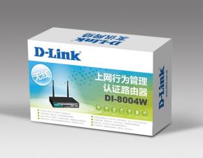 D-Link路由器包装设计