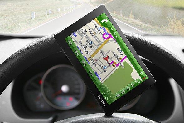 昂达GPS导航仪包装设计-youjoys.net