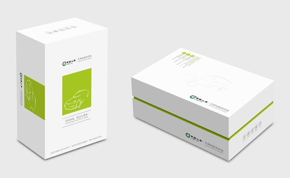 人寿保险公司车载服务终端包装设计-youjoys.net