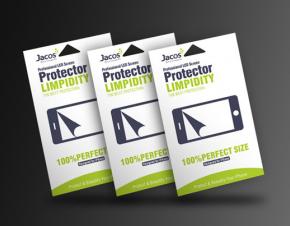 嘉德斯手机贴膜包装设计 手机保护膜包装设计