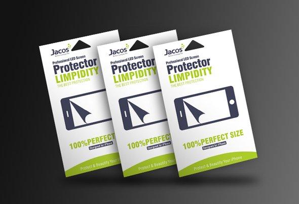 嘉德斯手机贴膜包装设计 手机保护膜包装设计-youjoys.net