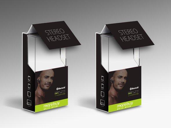 慕拜蓝牙耳机包装设计-youjoys.net