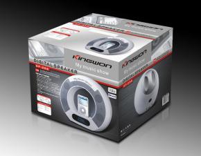 科王Kingwon音箱包装设计