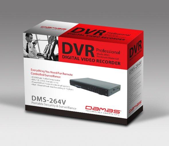 DVR包装设计-youjoys.net