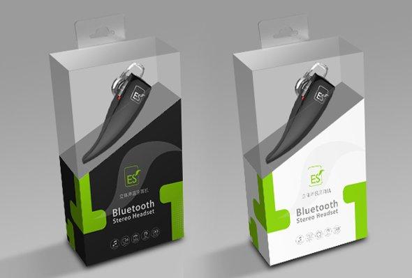 ES蓝牙耳机包装设计-youjoys.net