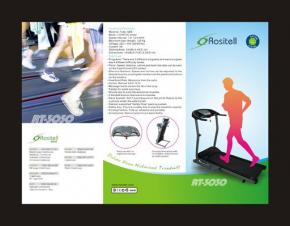 Rositell跑步机 折页设计